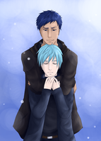 AoKuro: Moment under the Snow by lerysakon