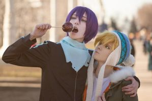 Yato and Yukine #7 by Tovarish-N