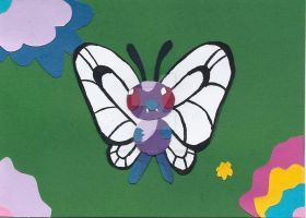 Butterfree by wandering-pen