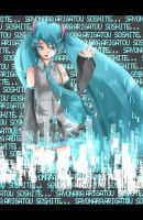 Disappearance of Hatsune Miku by thei-chan