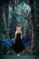 She walks with the spirit of the woods within by AngiWallace