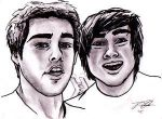 Smosh by Chutzpah10 by PortraitPencilArt