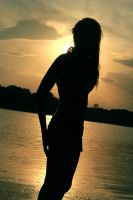 Sunset Silhouette by Justin-Reed