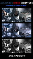 Assassin's Creed tag by Supermend
