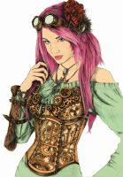 2013-steampunk-girl by JoannaMoory