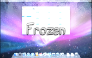 Frozen screensaver for mac by Necro949445