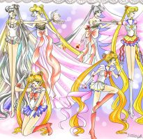 Sailor Moon Tribute by N1colle97