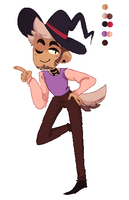 My witchsona by ManiacWithAPen