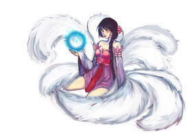 Lotus Ahri by zunifuun