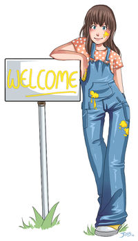 Welcome by Autruche