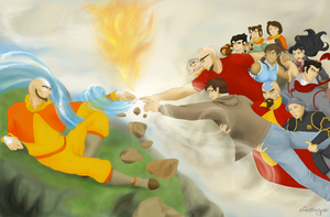 The Creation of Avatar by Brychelangelo by elven-thespian