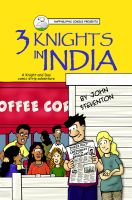 3 Knights in India by Steventon
