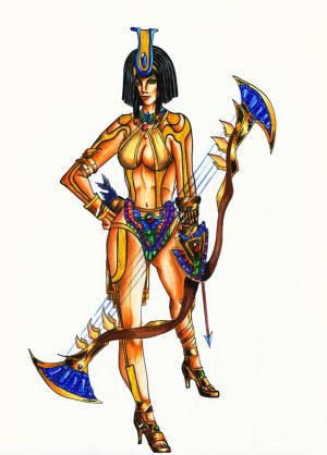 Neith Fanart SMITE