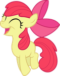 Applebloom's Happy Hop by EMedina13