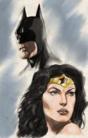 Bruce  diana color by jeffbanner