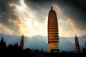 Oldest Pagoda by SAMLIM