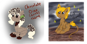 MLP - Adoptables Oreo+Cat [CLOSED] by CindryTuna