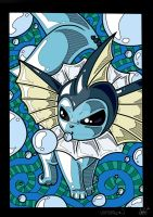 Vaporeon by Silly-Da-Billie