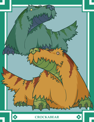 Monster Month II, #17: Crockabear
