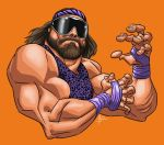 Macho Man Randy Savage RIP by MBorkowski