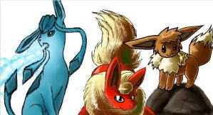 Eevees by Tisserovehicks