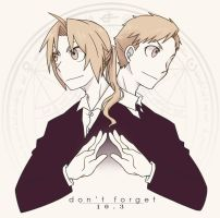 FMA: Don't Forget 10.3.2012 by c0ralus
