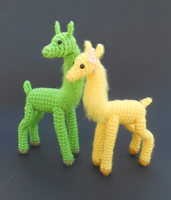 Lemon Lime Llamas by Pickleweasel360