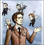 Dr Who: His Masters' Ghosts by foxysquid