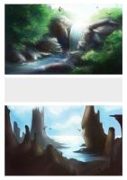 Landscape Studies 3 by kovah