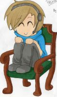 PewDiePie And Mr. Chair :3 by Emily4457
