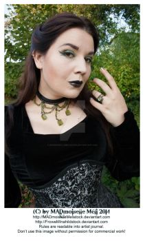 Gothic Diva Stock by MADmoiselleMeliStock