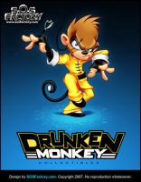 Mascot design: Drunken Monkey by SOSFactory