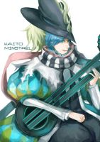 Vocaloid - Kaito the Minstrel by cullets