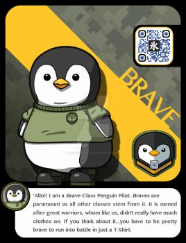 |M.A.M.U| - Penguin Pilot, Brave Class by FrostKnight-IcE