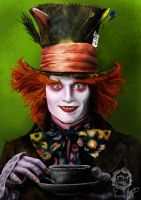 The Mad Hatter by C-CHAN86