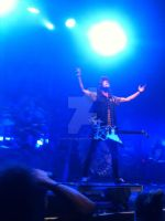 Vic Fuentes live by cascadeofstars