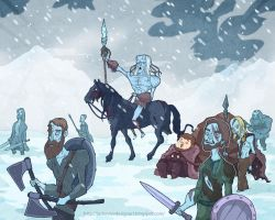 White Walkers by lost-angel-less