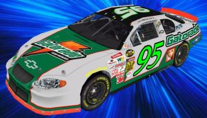 2004 Gatorade paint scheme 95 by DarkPhazon395