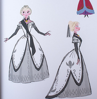 Anna's Coronation Dress by TheDevilReborn