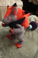Zoroark plush by xxxwingxxx
