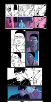 Young Avengers colour choices by emmav