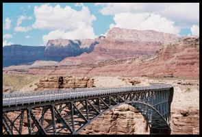 Canyon Bridge by Vipervelocity