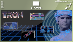 Stamps - 1982 - Tron by od3f1