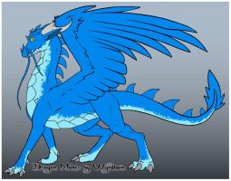 Gale Force the sky dragon by DemonSheyd500025