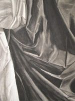 White Cloth and Black Cloth by saabe