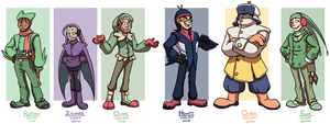 Pokemon: Team Coats and Boots by forte-girl7