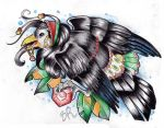Gypsy crow by Baitti