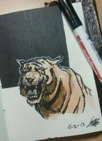 Deadly Tiger by Cheapknight