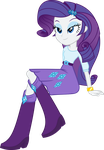 Rarity is watching at you by Macs44