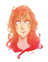 Red Girl by Elize18